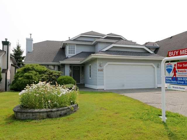 Main Photo: 2447 KENSINGTON CR in Port Coquitlam: Citadel PQ House for sale : MLS®# V1132947
