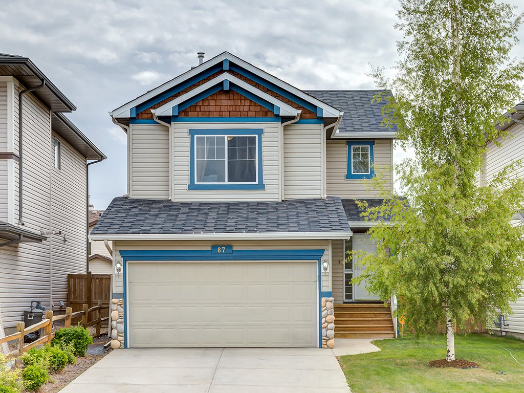 Main Photo: 87 Chapman Circle SE in Calgary: Chaparral House for sale : MLS®# C4064813