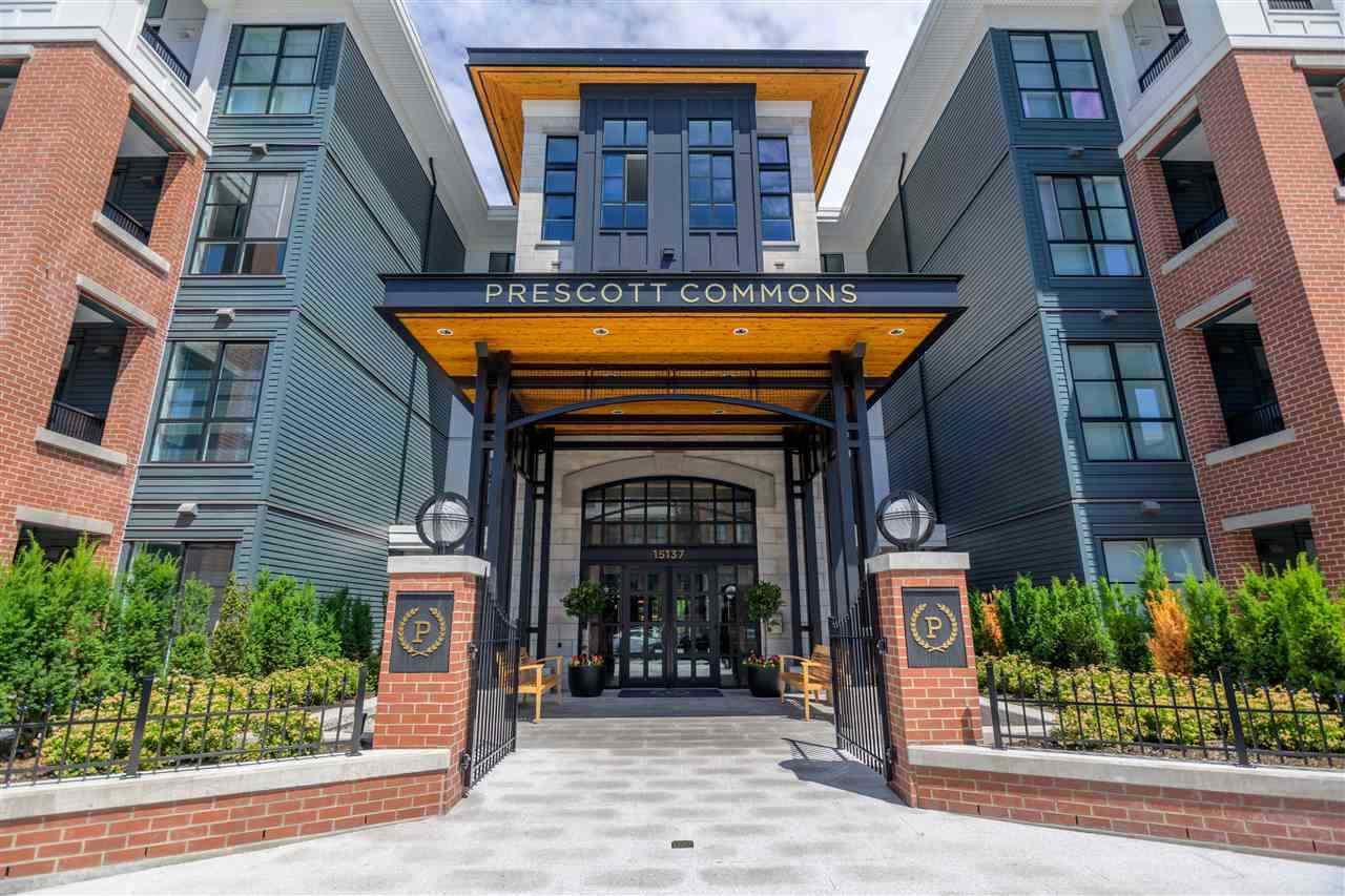 "Main Photo: 317 15137 33 Avenue in Surrey: Morgan Creek Condo for sale in ""Prescott Commons"" (South Surrey White Rock)  : MLS®# R2409669"