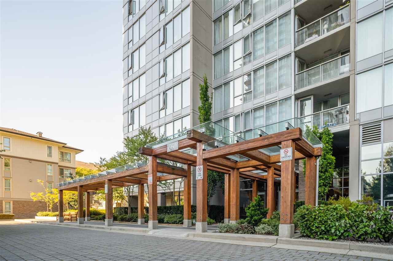 "Main Photo: 1201 660 NOOTKA Way in Port Moody: Port Moody Centre Condo for sale in ""Nahanni"" : MLS®# R2497996"