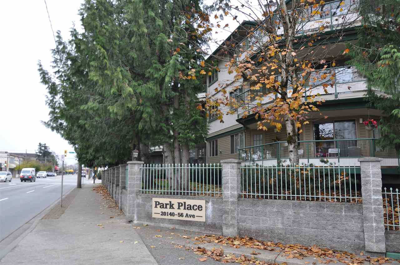 """Main Photo: 103 20140 56 Avenue in Langley: Langley City Condo for sale in """"Park Place"""" : MLS®# R2515065"""