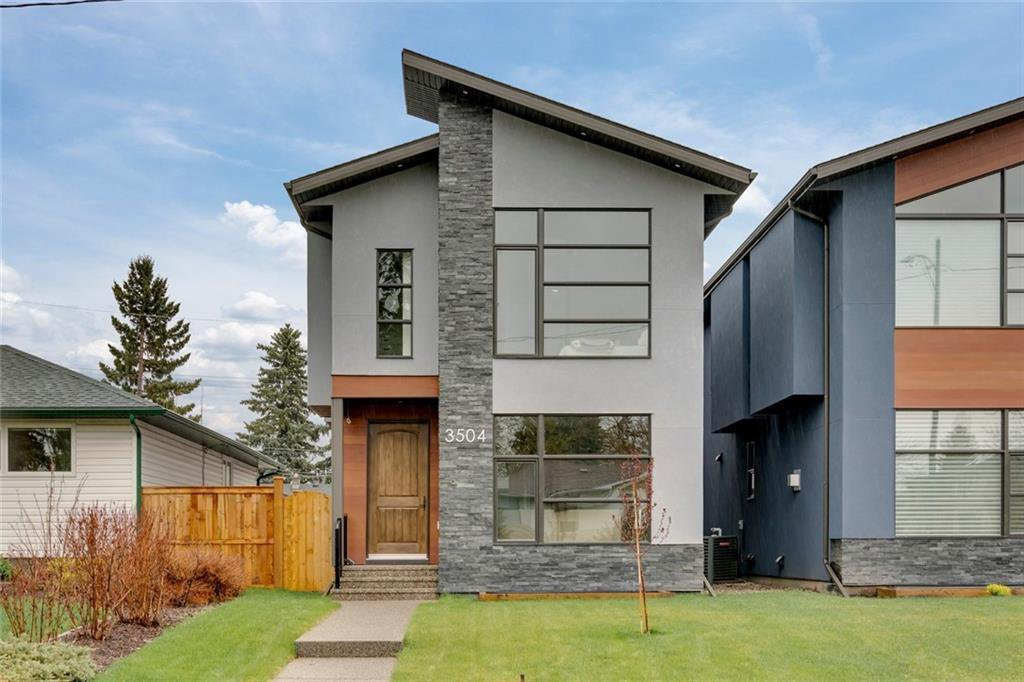Main Photo: 3504 2 Avenue SW in Calgary: Spruce Cliff Detached for sale : MLS®# C4297385