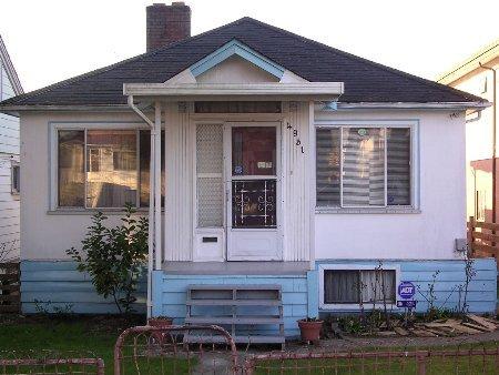 Main Photo: 4931 killarney st Vancouver: House for sale (Collingwood VE)  : MLS®# V524810