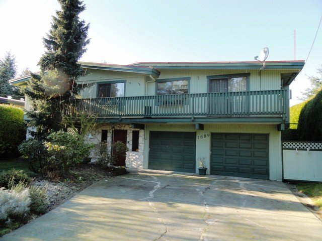 Main Photo: 1689 148TH Street in Surrey: Sunnyside Park Surrey House for sale (South Surrey White Rock)  : MLS®# F1300922