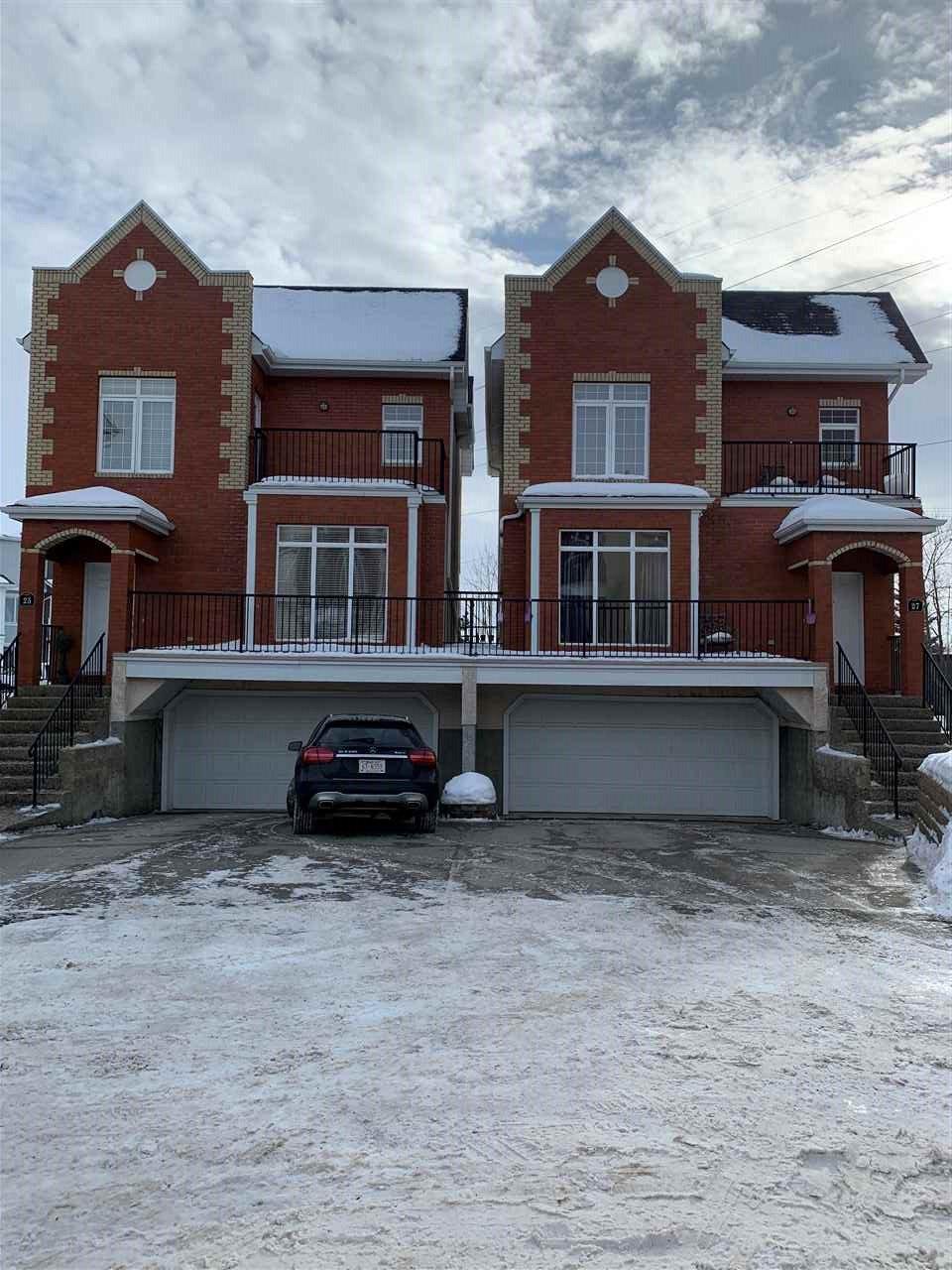Main Photo: 25 8403 164 Avenue in Edmonton: Zone 28 Townhouse for sale : MLS®# E4187065