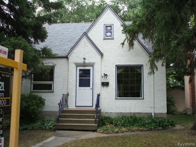 Main Photo: 426 Louis Riel Street in WINNIPEG: St Boniface Residential for sale (South East Winnipeg)  : MLS®# 1319988
