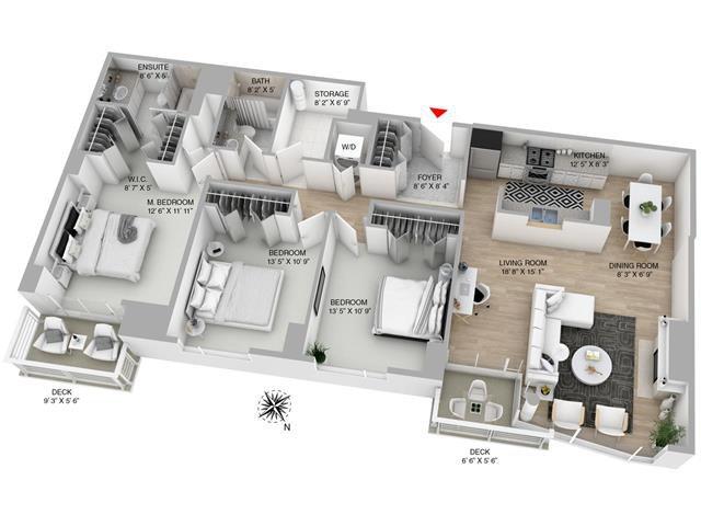 Main Photo: #306-688 FAIRCHILD RD in Vancouver: Oakridge VW House for sale (Vancouver West)  : MLS®# R2060137