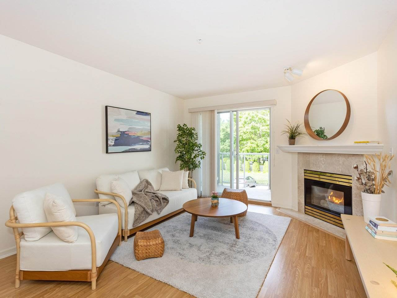 "Main Photo: 201 4758 53 Street in Delta: Delta Manor Condo for sale in ""SUNNINGDALE ESTATES"" (Ladner)  : MLS®# R2458006"