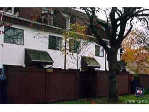 Main Photo: 4 145 Niagara St in VICTORIA: Vi James Bay Row/Townhouse for sale (Victoria)  : MLS®# 199429