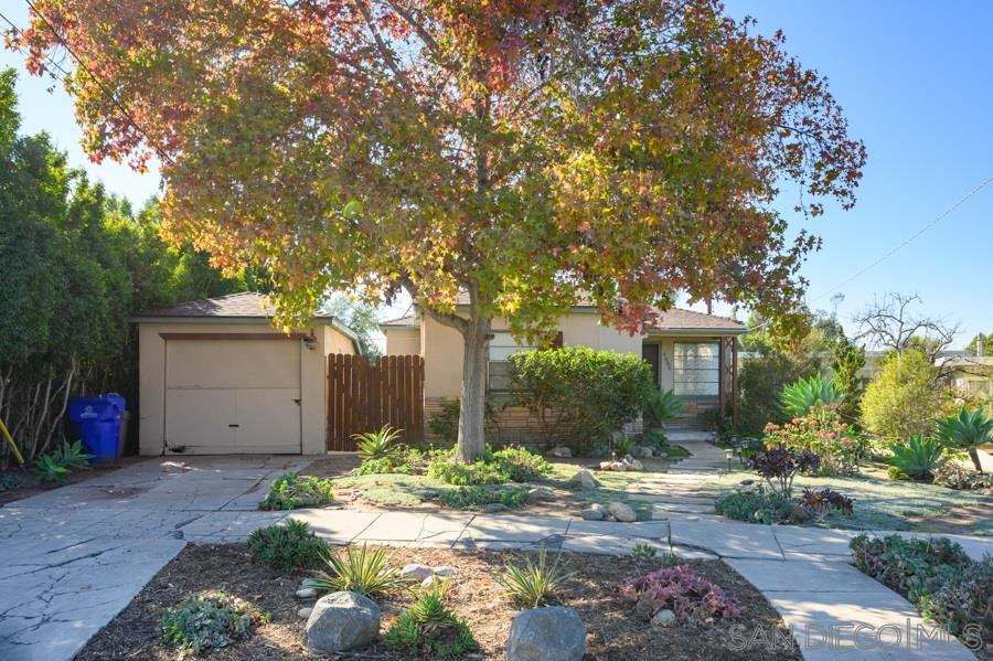 Main Photo: NORMAL HEIGHTS House for sale : 2 bedrooms : 4984 W Mountain View Drive in San Diego