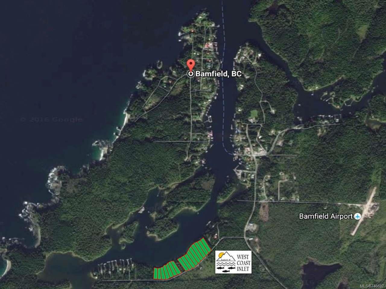Main Photo: LT 14 S Bamfield Rd in : PA Bamfield Land for sale (Port Alberni)  : MLS®# 746697
