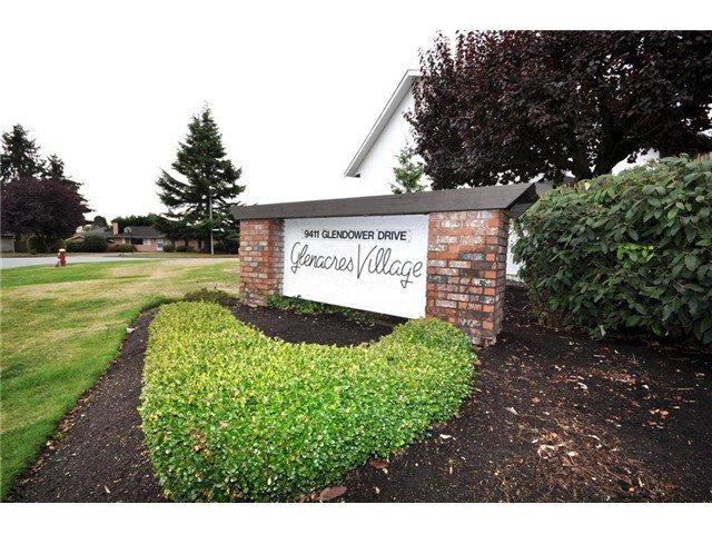 "Main Photo: 313 9411 GLENDOWER Drive in Richmond: Saunders Townhouse for sale in ""GLENACRES VILLAGE"" : MLS®# V977915"