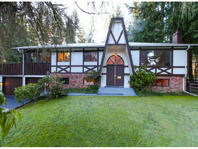 Main Photo: 14356 28TH Avenue in Surrey: Sunnyside Park Surrey House for sale (South Surrey White Rock)  : MLS®# F1228882