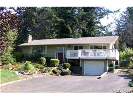 Main Photo: 4644 Cordova Bay Road in VICTORIA: SE Mt Doug Single Family Detached for sale (Saanich East)  : MLS®# 205544