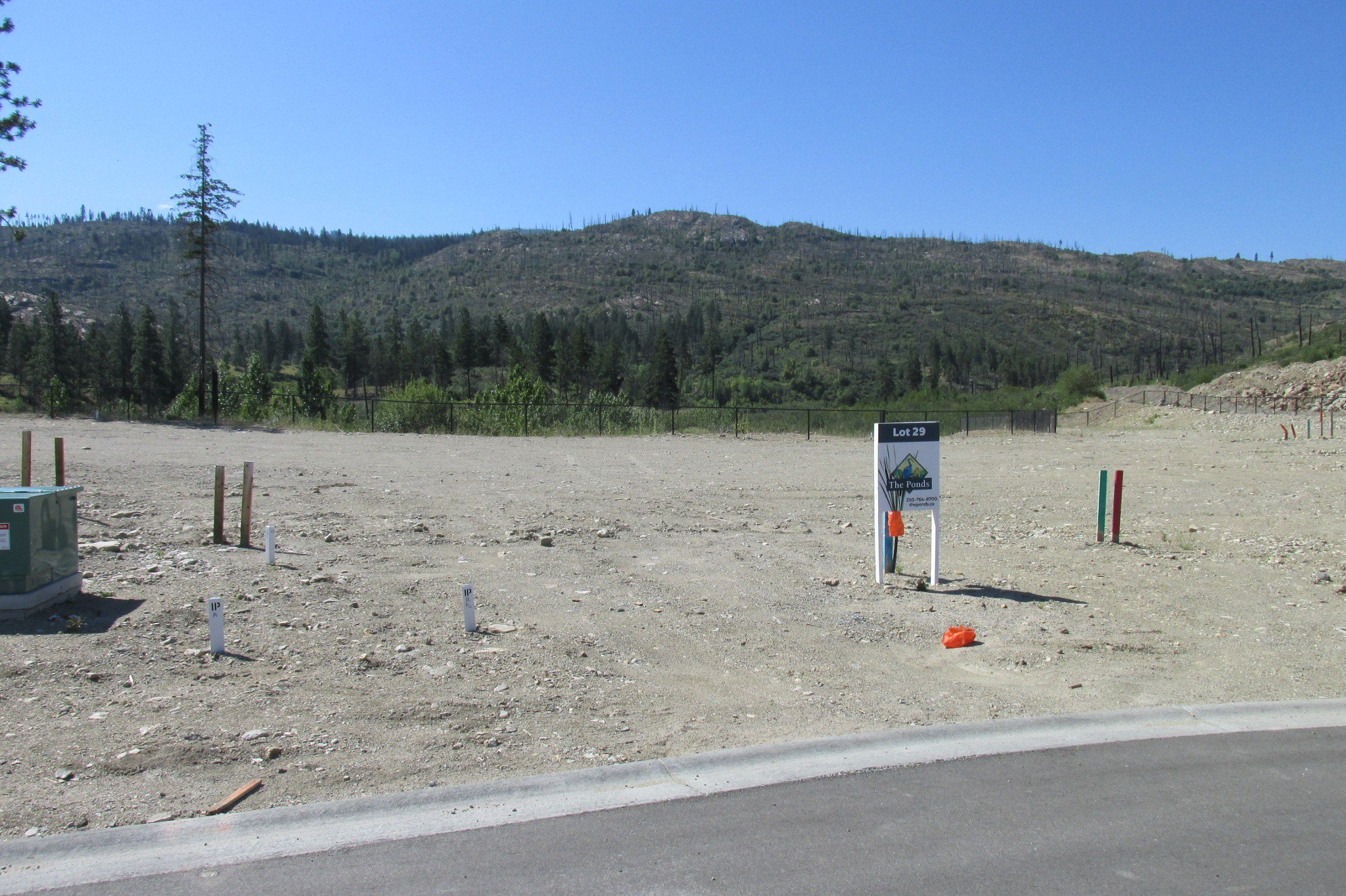 Main Photo: 1247 Jack Smith Road in Kelowna: Upper Mission Land Only for sale : MLS®# 	10164619