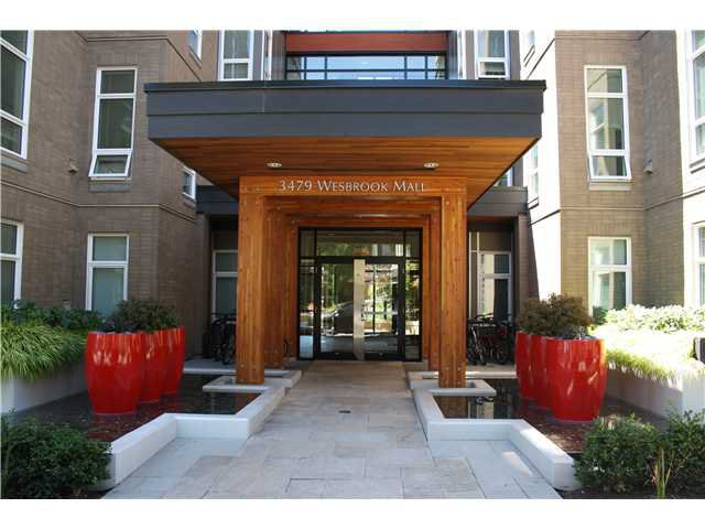 Main Photo: 208 3479 WESBROOK Mall in Vancouver: University VW Condo for sale (Vancouver West)  : MLS®# V1075800