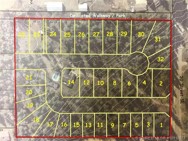 Main Photo: 1-32 1400 Southeast 20 Street in Salmon Arm: HiIlcrest Vacant Land for sale (SE Salmon Arm)  : MLS®# 10154455