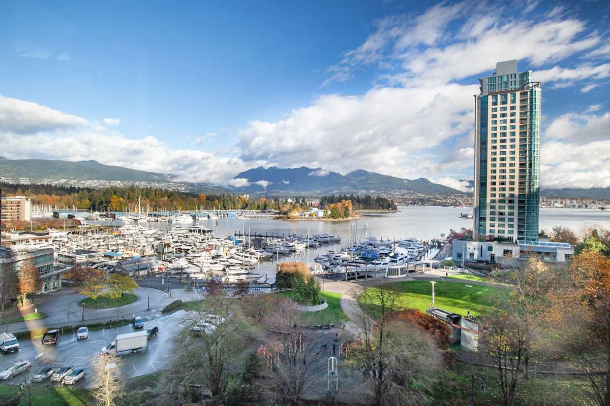Main Photo: 801 555 JERVIS STREET in Vancouver: Coal Harbour Condo for sale (Vancouver West)  : MLS®# R2330860
