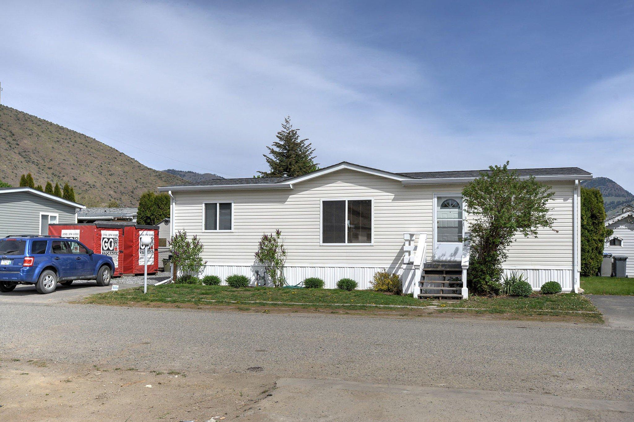 Main Photo: 134 1655 Ord Rd in Kamloops: Brock Manufactured Home for sale : MLS®# 151211