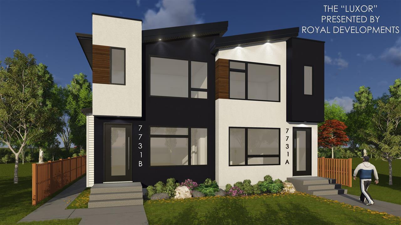 Main Photo: 7733 81 Avenue in Edmonton: Zone 17 House Half Duplex for sale : MLS®# E4171469
