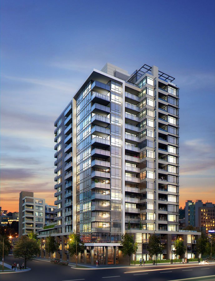 Main Photo: #901 at LIDO by BOSA (110 Switchmen St.) in Vancouver: False Creek Condo for sale (Vancouver West)