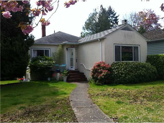 Main Photo: 1106 W 59TH AV in VANCOUVER: South Granville House for sale (Vancouver West)  : MLS®# V987671