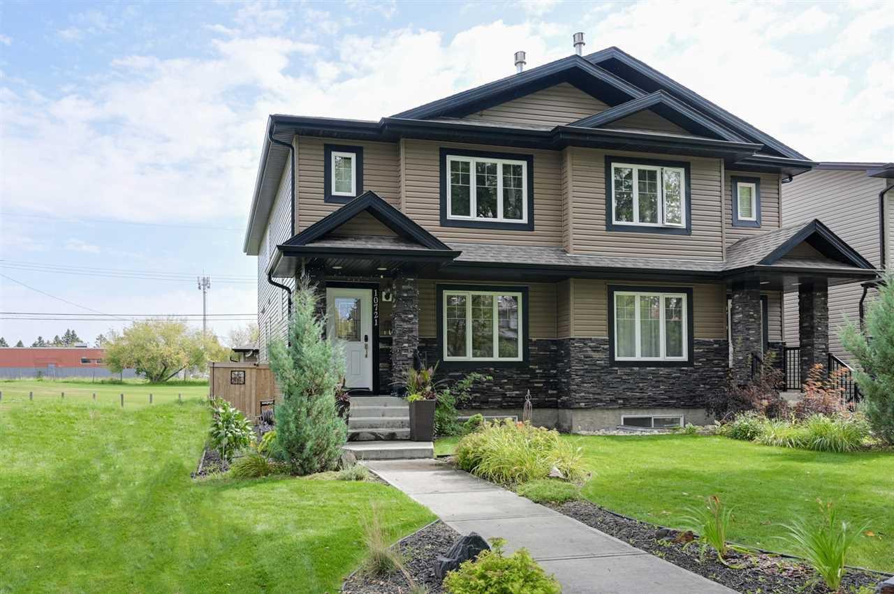 Main Photo: 10721 122 Street in Edmonton: Zone 07 House Half Duplex for sale : MLS®# E4172705