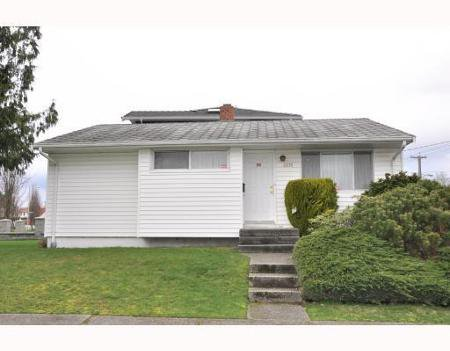 Main Photo: 2615 HOYLAKE AV in Vancouver: House for sale (Fraserview VE)  : MLS®# V812403