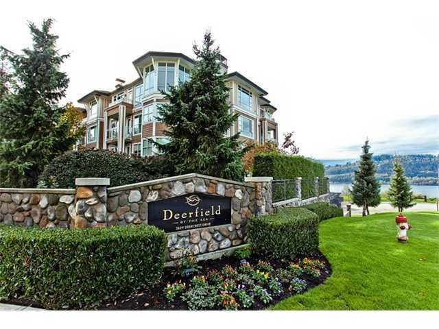 Main Photo: 328 3629 DEERCREST Drive in North Vancouver: Roche Point Condo for sale : MLS®# V975270