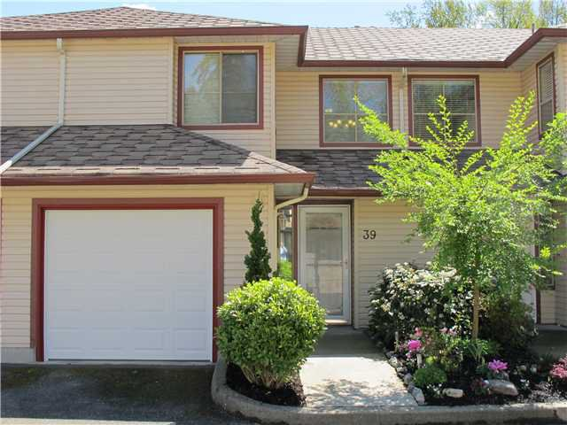 "Main Photo: 39 21960 RIVER Road in Maple Ridge: West Central Townhouse for sale in ""FOXBOROUGH HILLS"" : MLS®# V1005125"