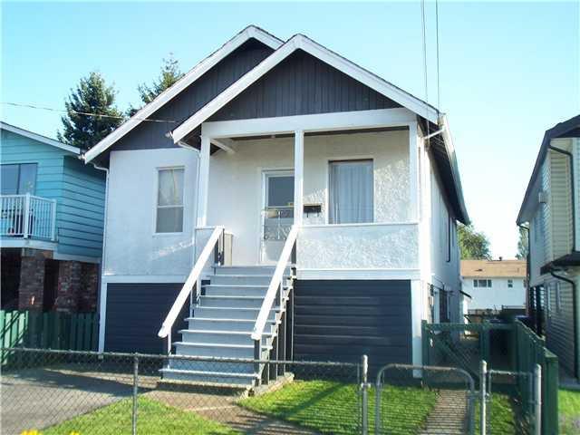 Main Photo: 1848 FRASER Avenue in Port Coquitlam: Glenwood PQ House for sale : MLS®# V966827