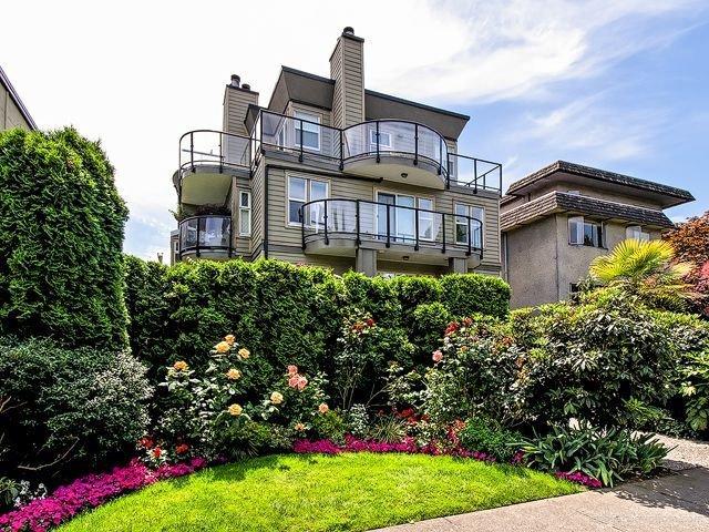 Main Photo: # 6 1966 YORK AV in Vancouver: Kitsilano Townhouse for sale (Vancouver West)  : MLS®# V1017836