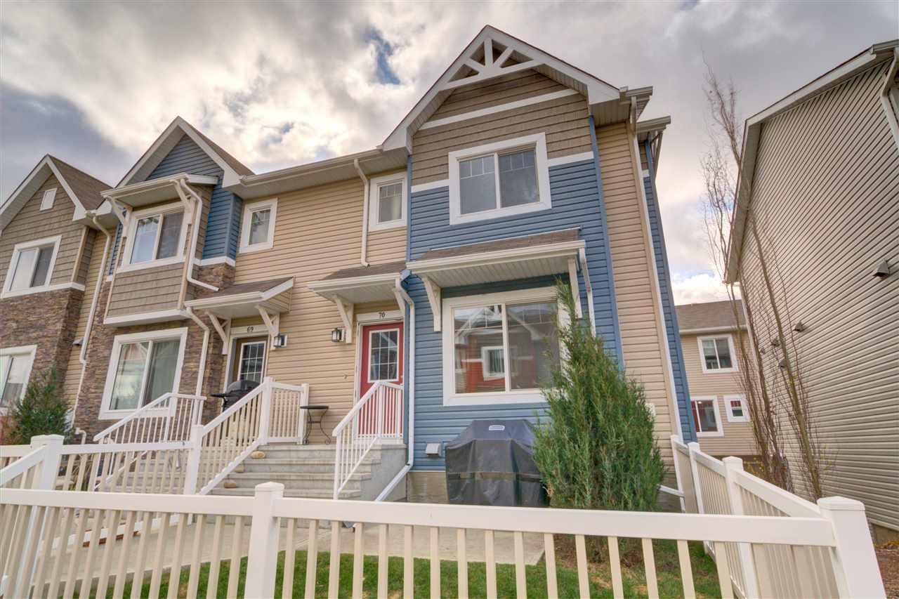 Main Photo: 70 655 TAMARACK Road in Edmonton: Zone 30 Townhouse for sale : MLS®# E4178873