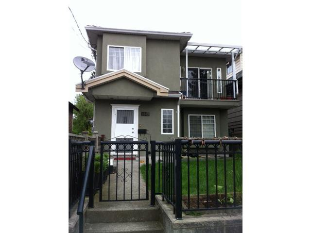Main Photo: 1843 E 12TH Avenue in Vancouver: Grandview VE House 1/2 Duplex for sale (Vancouver East)  : MLS®# V946824