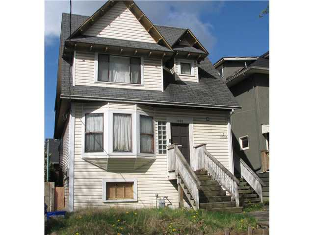Main Photo: 3009 QUEBEC ST in : Mount Pleasant VE House for sale : MLS®# V822243