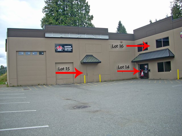 Main Photo: 14,15,16 34100 S Fraser Way in Abbotsford: Commercial for sale