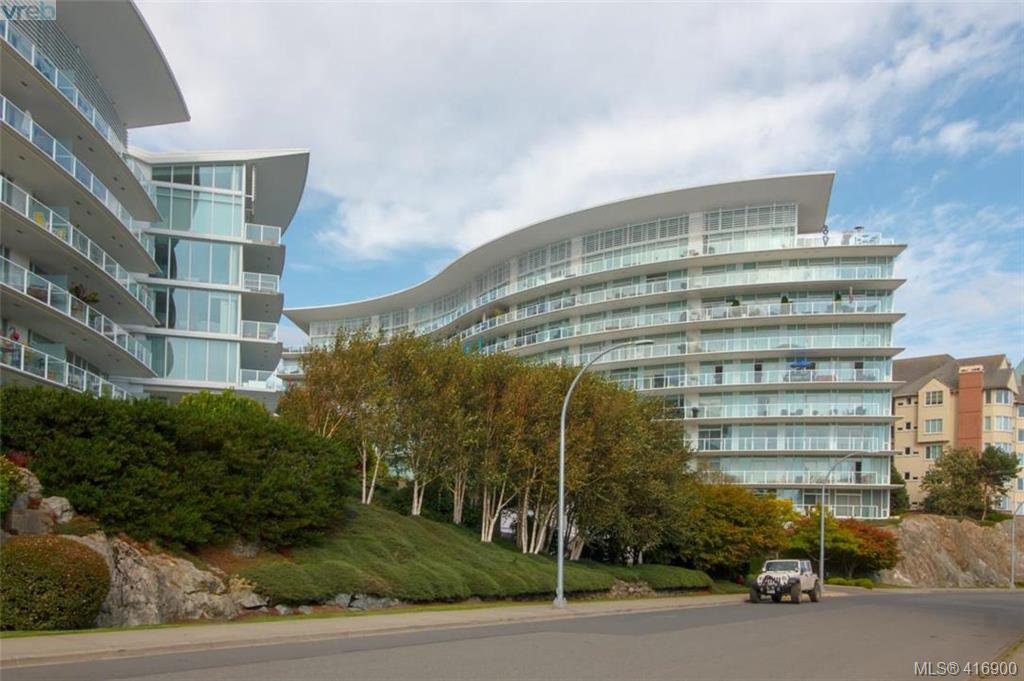 Main Photo: 102 66 Songhees Road in VICTORIA: VW Songhees Condo Apartment for sale (Victoria West)  : MLS®# 416900