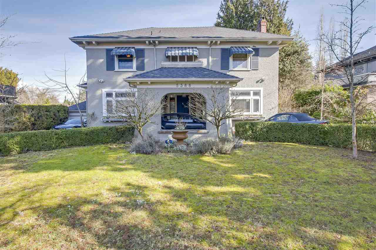 "Main Photo: 5388 CYPRESS Street in Vancouver: Shaughnessy House for sale in ""SHAUGHNESSY"" (Vancouver West)  : MLS®# R2427942"