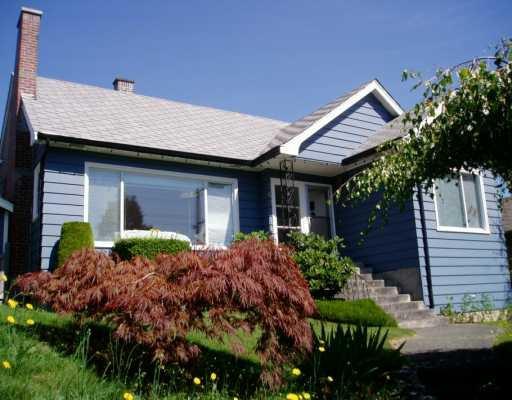 Main Photo: 343 E 8TH AV in New Westminster: The Heights NW House for sale : MLS®# V569565
