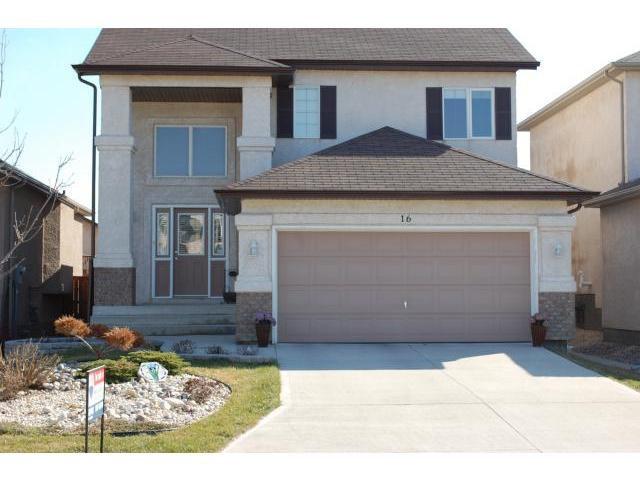 Main Photo: 16 Pentonville Crescent in WINNIPEG: St Vital Residential for sale (South East Winnipeg)  : MLS®# 1206757