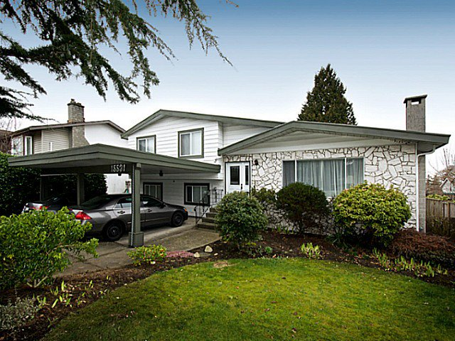 Main Photo: 15531 POPLAR DR in Surrey: King George Corridor House for sale (South Surrey White Rock)  : MLS®# F1408510