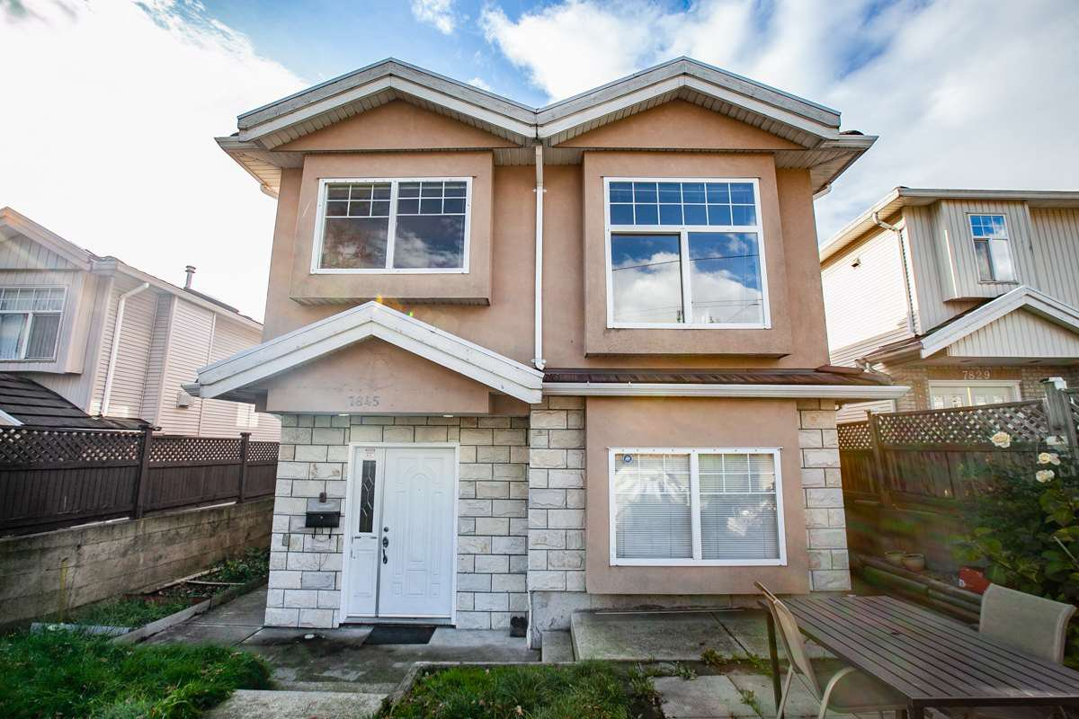 Main Photo: 7845 FRASER STREET in Vancouver: South Vancouver House 1/2 Duplex for sale (Vancouver East)  : MLS®# R2320801