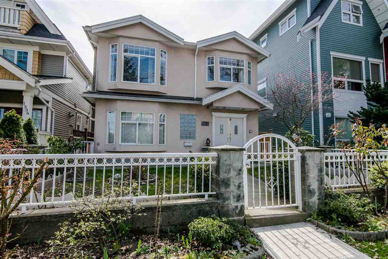 Main Photo: 1330 E 23RD AVENUE in Vancouver: Knight House for sale (Vancouver East)  : MLS®# R2355088