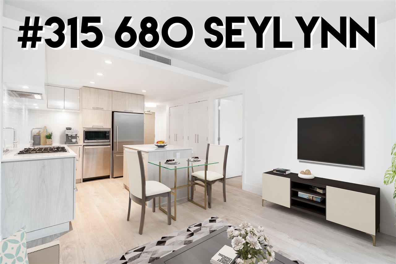 """Main Photo: 315 680 SEYLYNN Crescent in North Vancouver: Lynnmour Condo for sale in """"Compass at Seylynn Village"""" : MLS®# R2420954"""