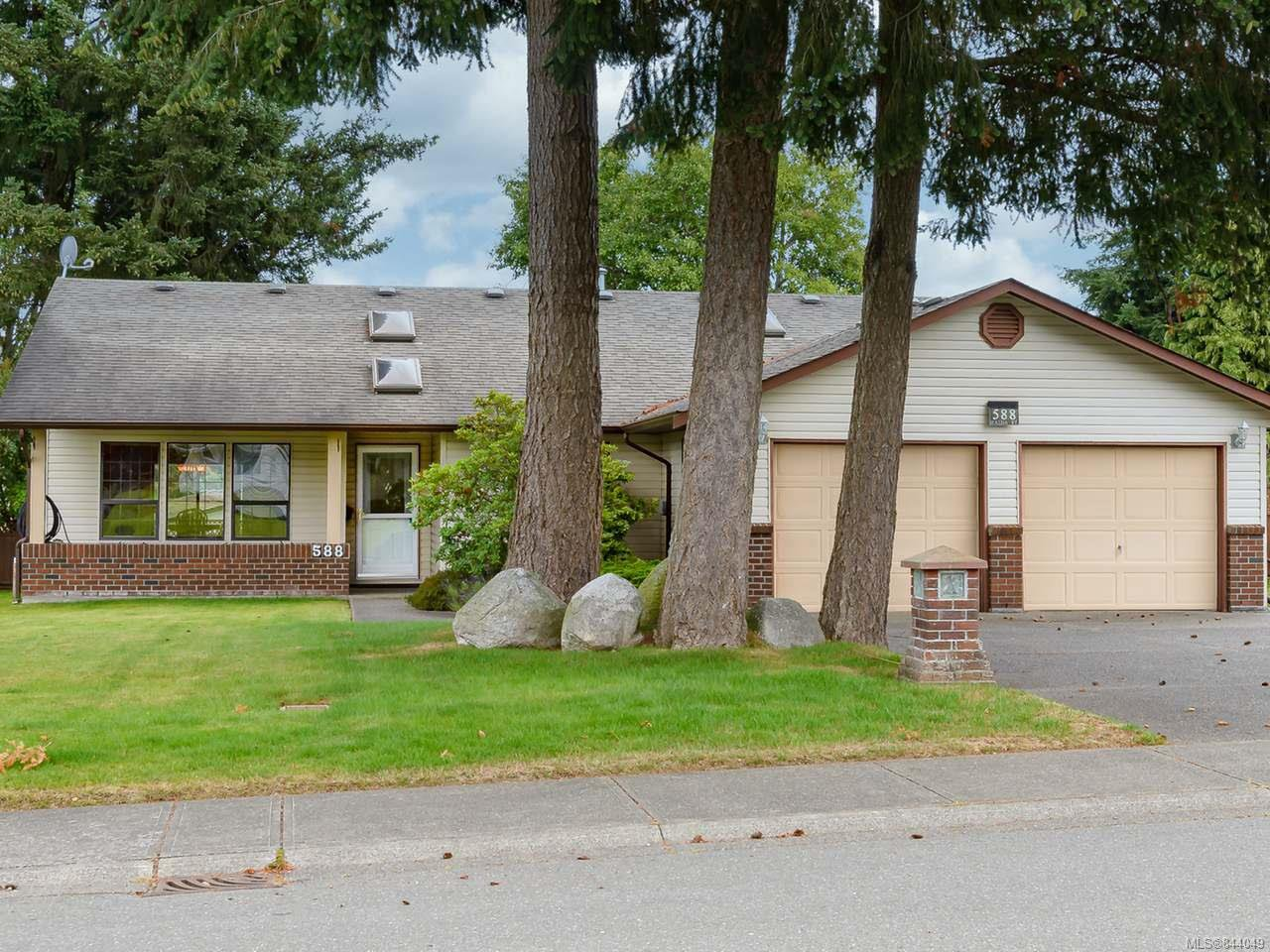 Main Photo: 588 Haida St in COMOX: CV Comox (Town of) Single Family Detached for sale (Comox Valley)  : MLS®# 844049