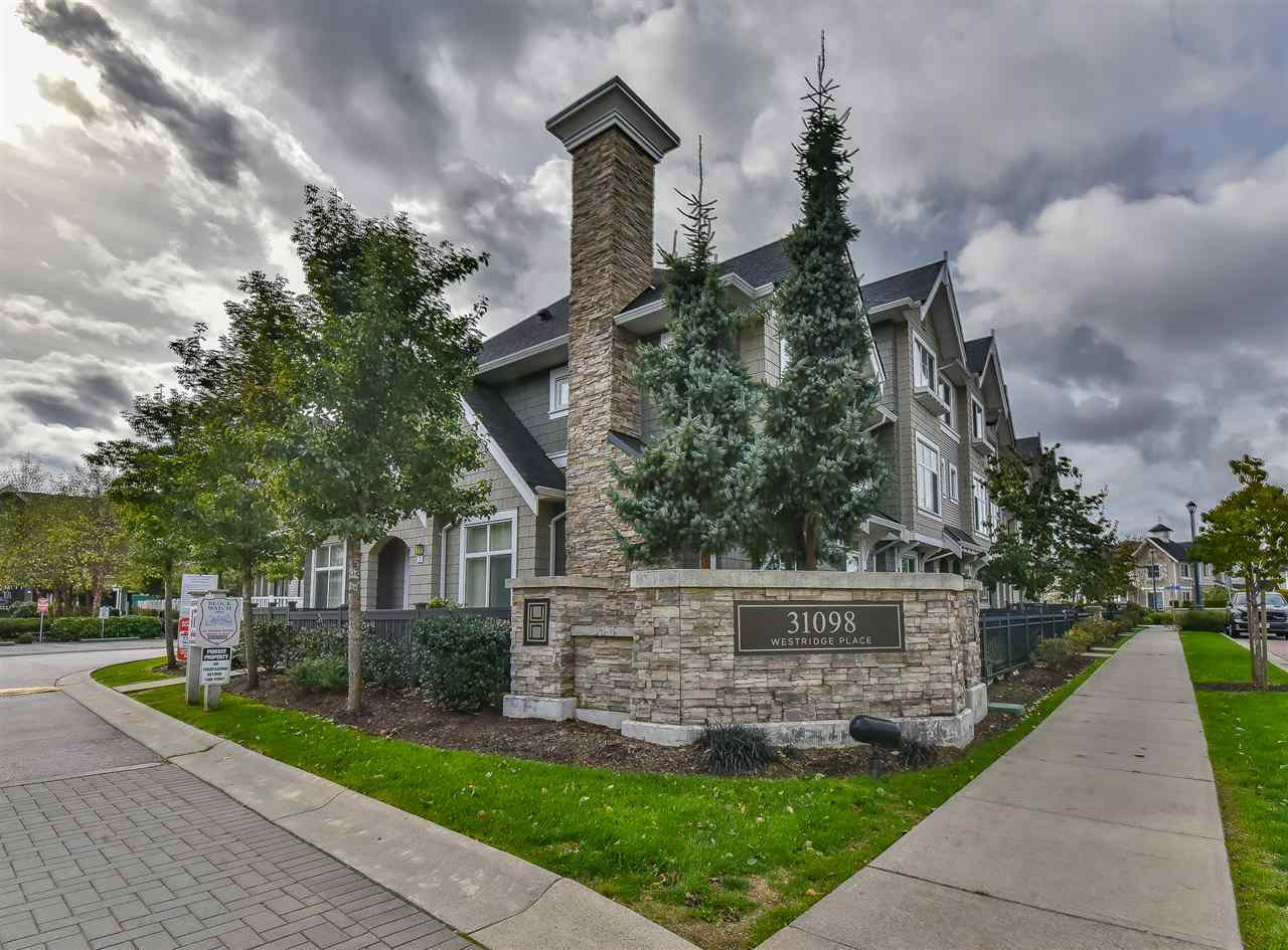 """Main Photo: 55 31098 WESTRIDGE Place in Abbotsford: Abbotsford West Townhouse for sale in """"Hartwell"""" : MLS®# R2511908"""