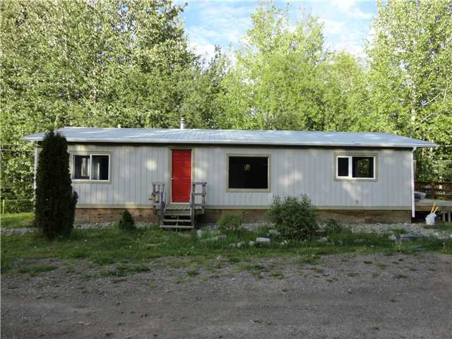 "Main Photo: 25455 NESS LAKE Road in Prince George: Ness Lake Manufactured Home for sale in ""NESS LAKE"" (PG Rural North (Zone 76))  : MLS®# N219557"