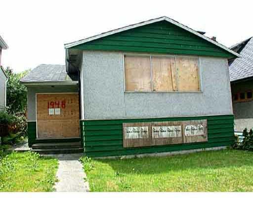 Main Photo: 1948 E 4TH AV in : Grandview VE House for sale : MLS®# V346164