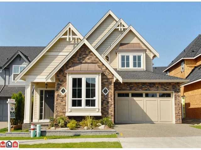 Main Photo: 16275 25th Avenue in White Rock: Grandview Surrey House for sale (South Surrey White Rock)  : MLS®# F1401004