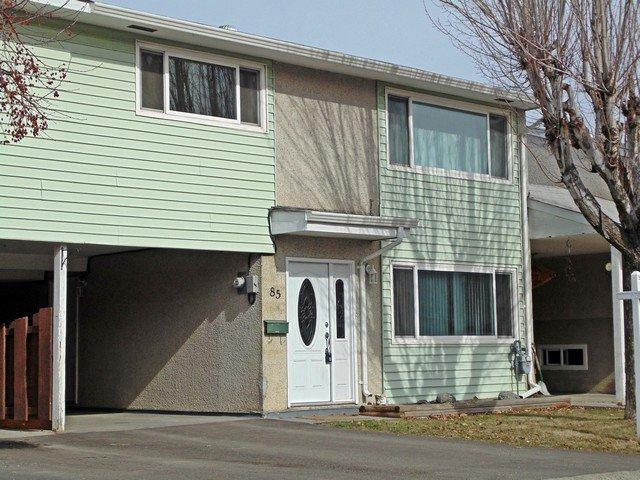 Main Photo: 85 800 Vahlalla Drive in Kamloops: Brock Townhouse for sale : MLS®# 127048